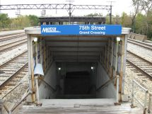 75th Street Crossing Chicago