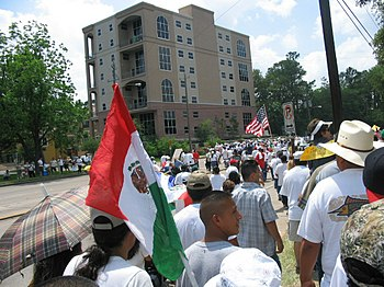 A day without immigrants, May 1, 2006. Descrip...