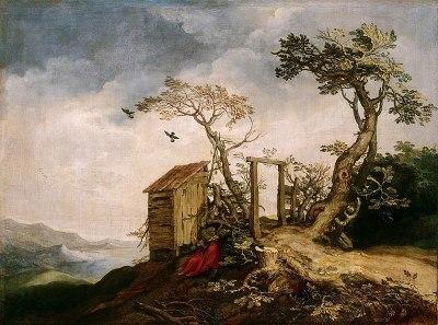 File:Abraham Bloemaert - Landscape with the Prophet Elijah in the Desert - WGA2277.jpg