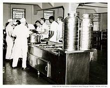 2 tier kitchen island honest dog food coupon alcatraz dining hall - wikipedia