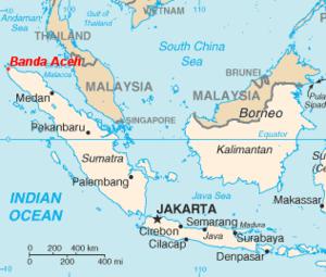 Banda Aceh location
