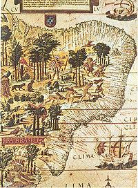 mapa brasil antigo