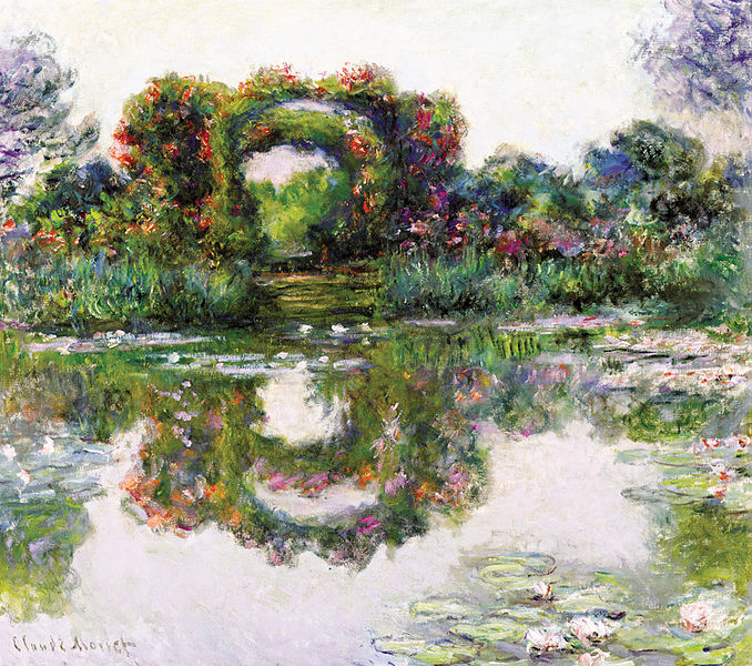 File:Claude Monet - Flowering Arches, Giverny.JPG