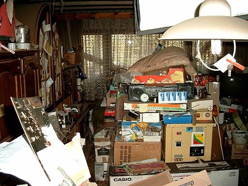 Compulsive hoarding Apartment