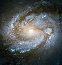 Core of Messier 100, by ESA/Hubble & NASA