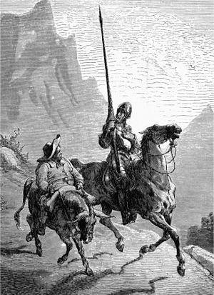English: Gustave Doré: Don Quijote de La Manch...