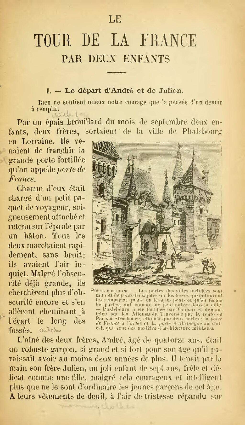 Le Tour De France Par Deux Enfants : france, enfants, Page:G., Bruno, France, Enfants,, 1904.djvu/7, Wikisource