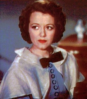 Cropped screenshot of Janet Gaynor from the fi...
