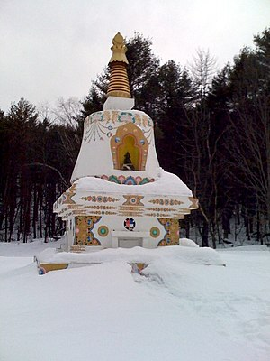 crematorium at karme choling retreat center in...