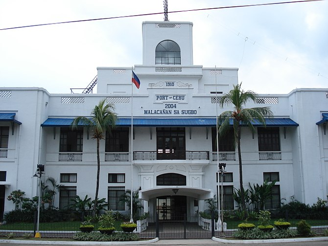 The presidential Mansion in Cebu City
