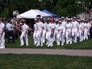 English: Naval ROTC at Ohio State University