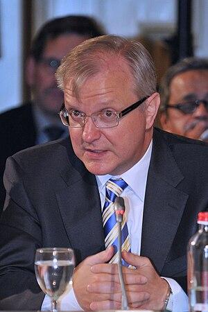 Olli Rehn, EU Economic and Monetary Affairs Co...