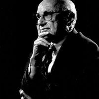 """Milton Friedman: """"L'Italia? E' ancora a galla grazie al mercato nero e all'evasione"""""""