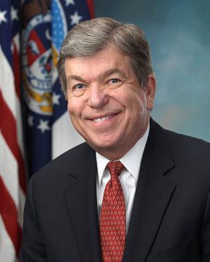 English: Official portrait of US Senator Roy B...