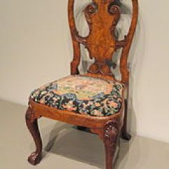 Queen Ann Chairs Vintage Chair Stand Anne Style Furniture Wikipedia Walnut And Burr Veneer Side Attributed To Giles Grendey London C 1740 Art Institute Of Chicago