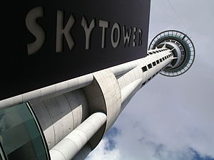 Sky-Tower Auckland (New Zealand)