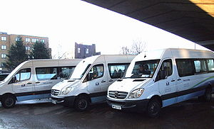 English: Social services transport in Kensingt...