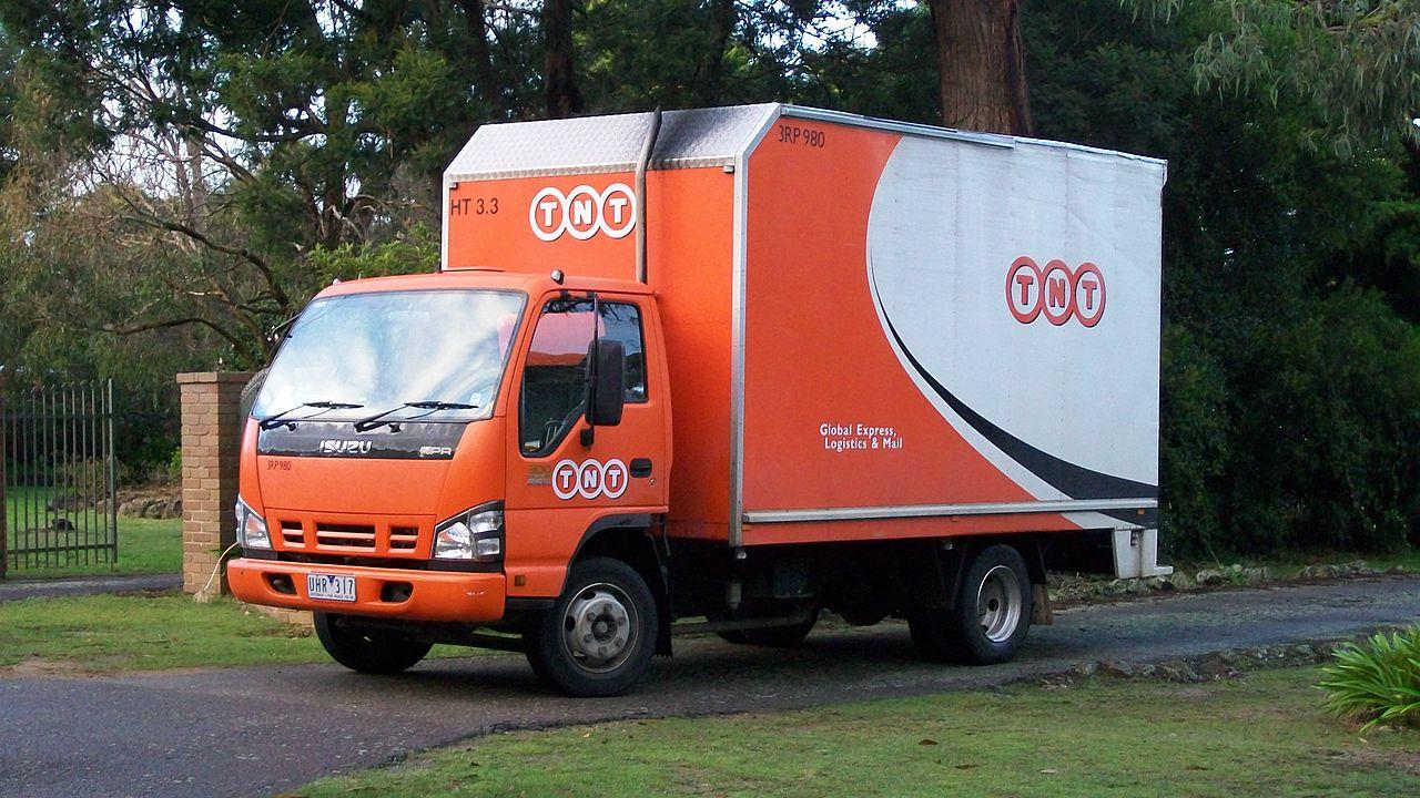 File:TNT Express freight van, Melbourne, Australia.jpg - Wikimedia Commons