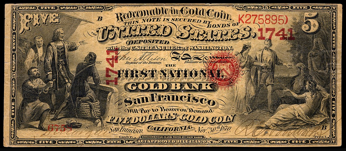 National gold bank note  Wikipedia