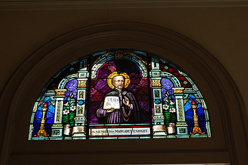 USA-San Jose-Cathedral Basilica of Saint Joseph-Front Stained-Glass Window-1
