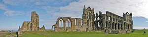 Ruins of Whitby Abbey, Whitby, England