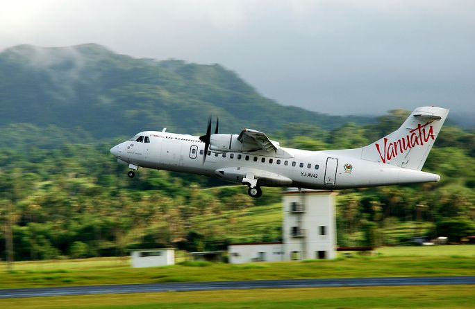 ATR 42 at Port Vila - Vanuatu