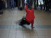 Break dancer, New York