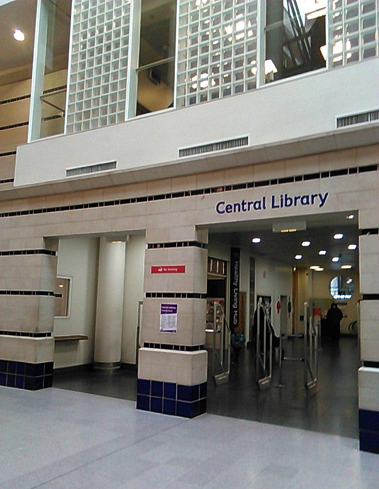 Croydon Central Library  Wikipedia