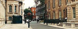 Downing Street, Whitehall, London (U.K.)