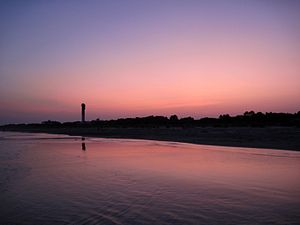Sullivan's Island, SC - Beach at Dusk