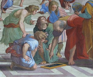 Euclid, Greek mathematician, 3rd century BC, a...