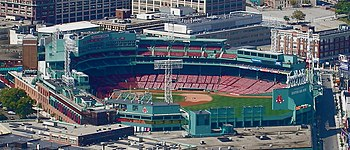 Fenway Park, home of the Boston Red Sox, is th...