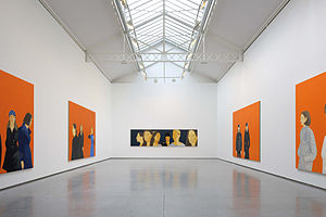 English: Alex KATZ, installation view, January...