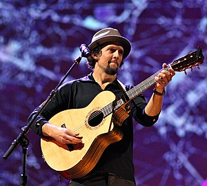 Jason Mraz performing at the February 28 - Mar...