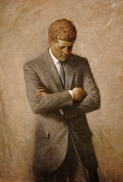 File:John F Kennedy Official Portrait.jpg