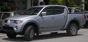 Front quarter view of a first generation Mitsu...