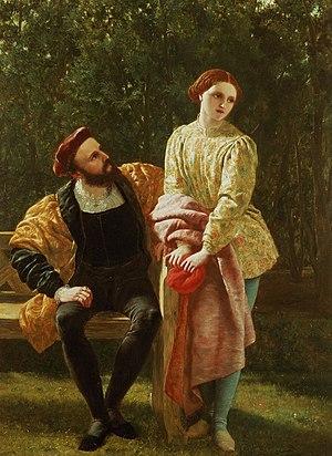 Frederick Richard Pickersgill painting of Orsi...