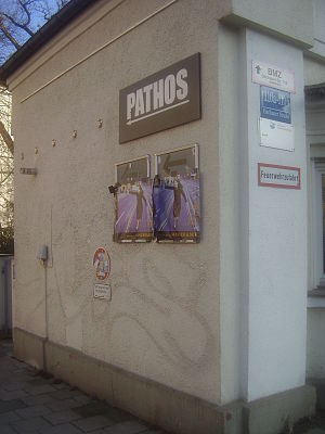 English: Pathos Transport Theater, Munich. Deu...