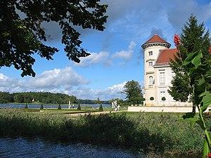 Deutsch: Schloss Rheinsberg, Landkreis Ostprig...