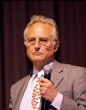 English: Richard Dawkins at New York City's Co...