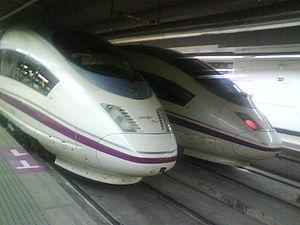 English: Siemens Velaro at Barcelona-Sants AVE...