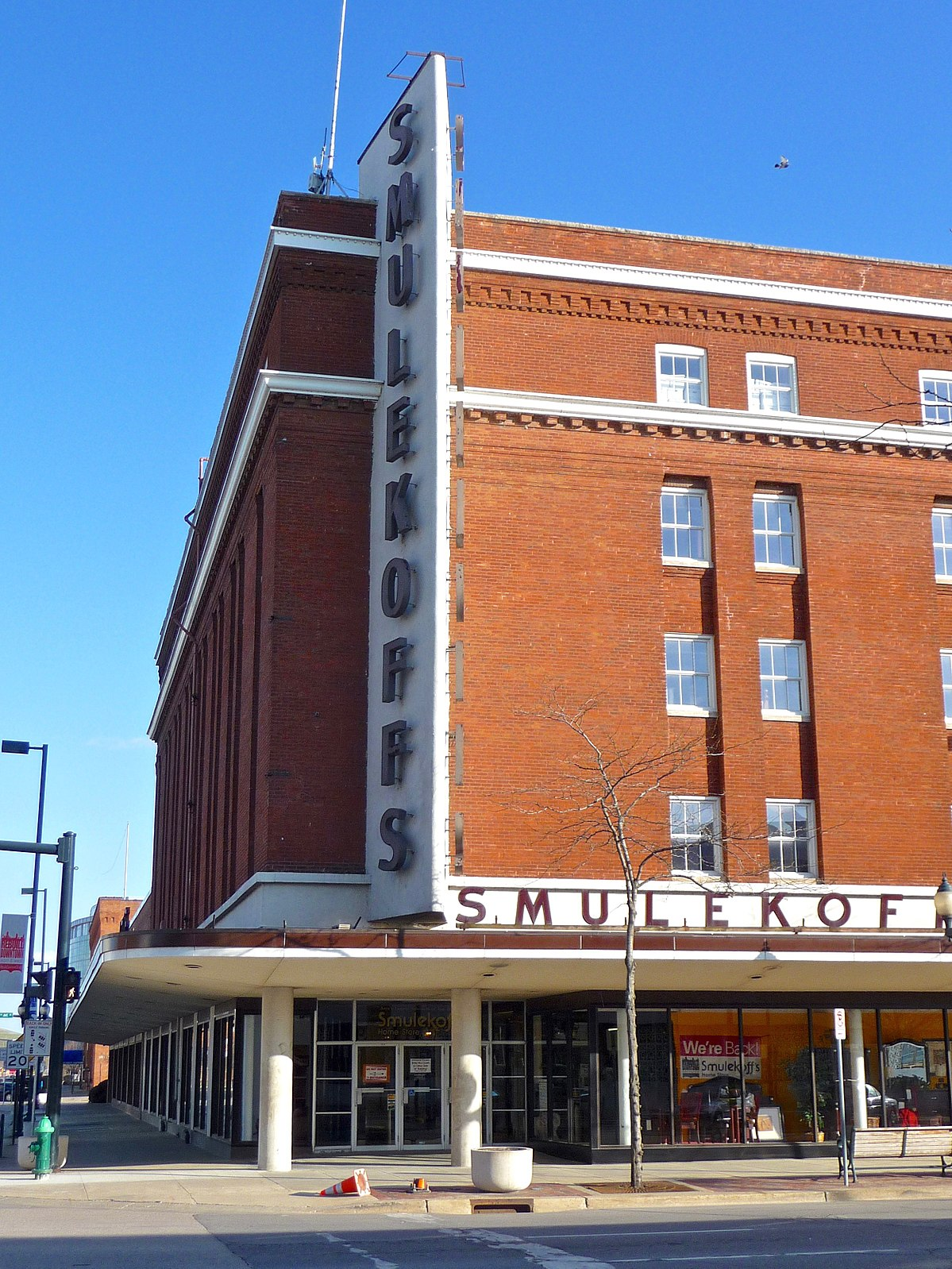 Sinclair BuildingSmulekoffs Furniture Store  Wikipedia