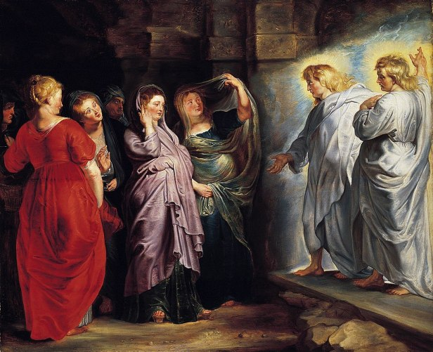 The Holy Women at the Sepulchre by Peter Paul Rubens