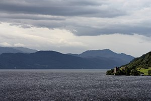 The Loch Ness and Urquhart castle