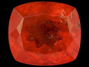 Triplite gemstone 1