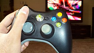 English: XBOX 360 Super Elite Controllers.