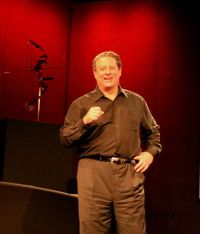 Al Gore discussed global warming at TED 2006. ...