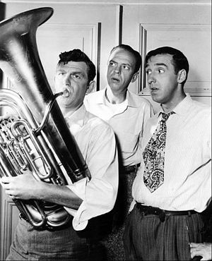 Publicity photo of Andy Griffith, Don Knotts a...