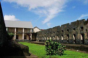 bagne des Iles du Salut en Guyane (France)