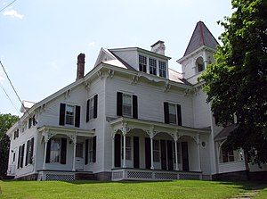 English: Clayton H. Delano House, Ticonderoga,...